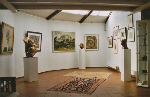 Galerie und Atelier Remise von Anne Marie und Willi Mörler
