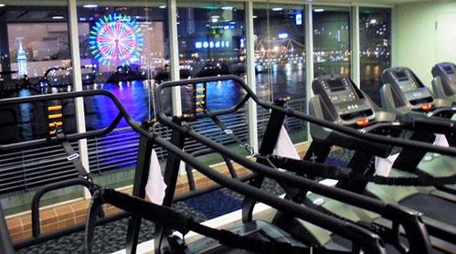 パーソナルトレーニング神戸 神戸メリケンパーク(神戸市中央区)ランニングマシン