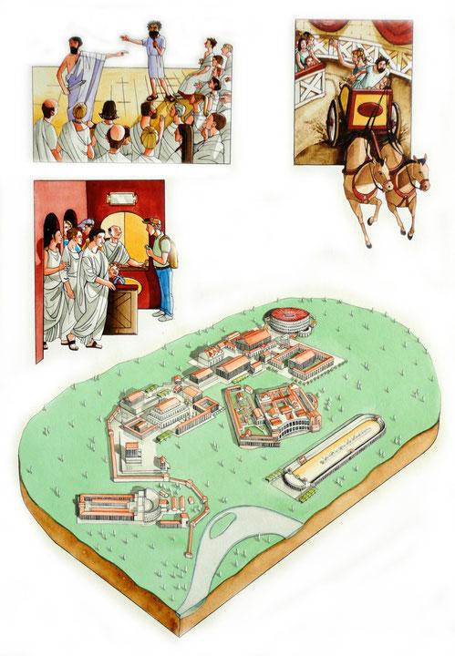 """""""Roma Vetus"""", è il nome di un parco a tema, fatto a somiglianza di Roma antica, che dovrebbe sorgere in Umbria"""