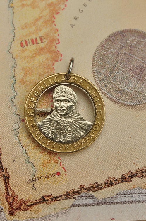 Münzsagewerk Katrin Thull | Chile - Mapuche