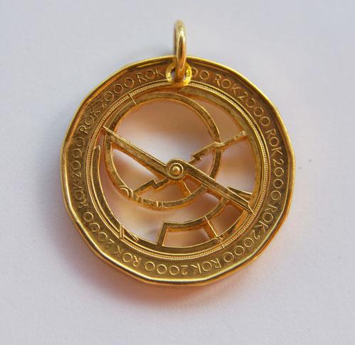 Münzsägewerk Katrin Thull | Tschechien - Astrolabium