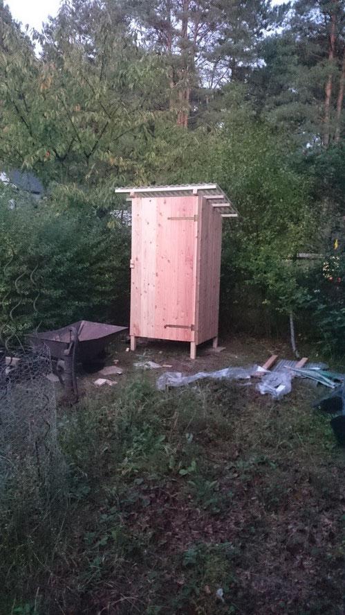 Anleitung Für Ein Toilettenhaus Komposttoilette
