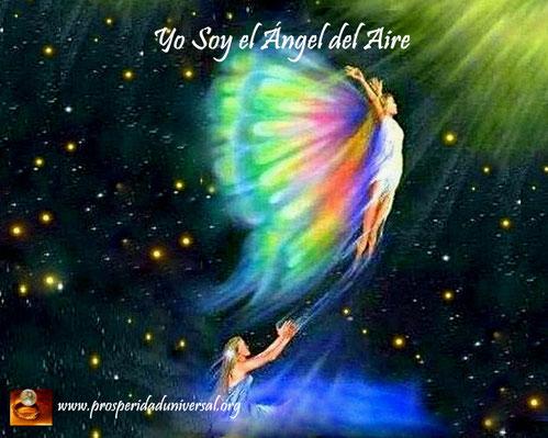 ÁNGELES DE la luz divina - YO SOY EL ÁNGEL DEL AIRE - PROSPERIDAD UNIVERSAL -www.prosperidaduniversal.org