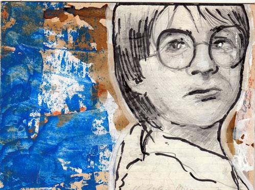 Bild Junge mit Brille