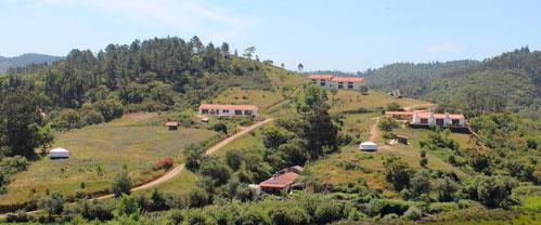 Driftwood Unterkunft in Portugal