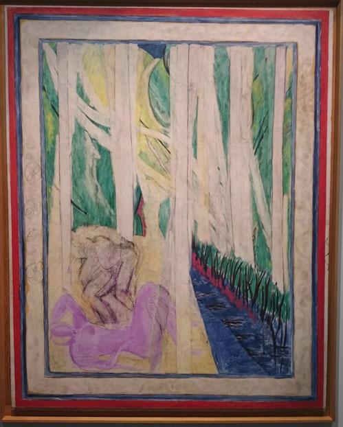 Matisse, Nymphe dans la forêt, 1935-1942/43, 245 x195.