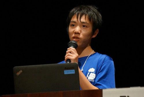 齊藤竜馬くん(2年)