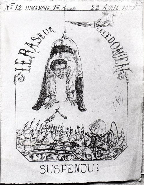 D17 - Le Raseur Calédonien, 22 avril 1877.