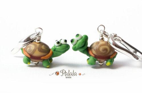 Boucles d'oreilles tortues