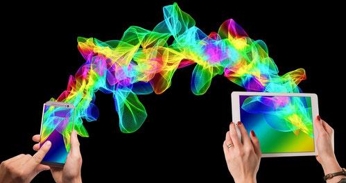 communication tablette téléphone avec e-cime.fr