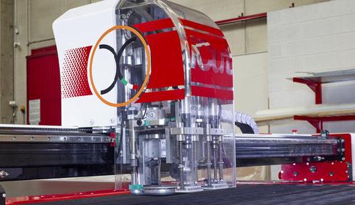 OROX Italy   Vacuum system for iCut cutting machine