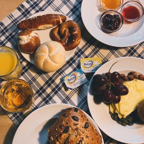 Frühstück Hotel Höttl