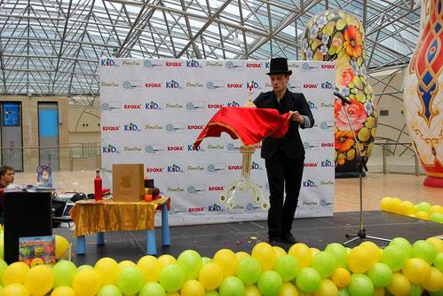 фокусник на праздник в Москве