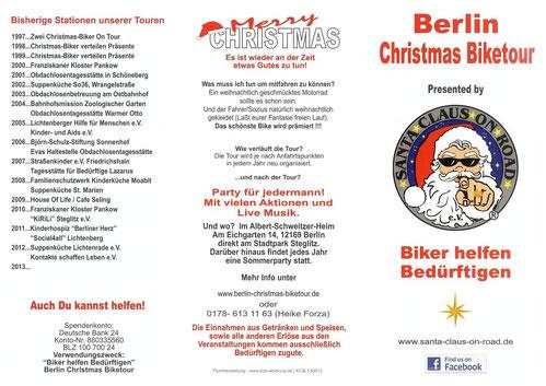 Unsere bisherigen Stationen und mehr über unsere Berlin Christmas Tour am Samstag vor dem 3.Advent