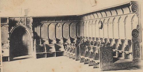 Stalles du couvent des Augustins de Marciac