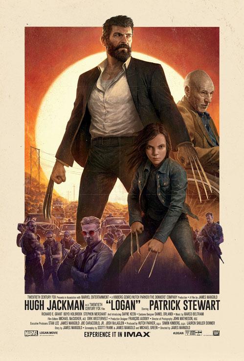 Logan The Wolverine Hugh Jackman - FOX - kulturmaterial - IMAX Poster