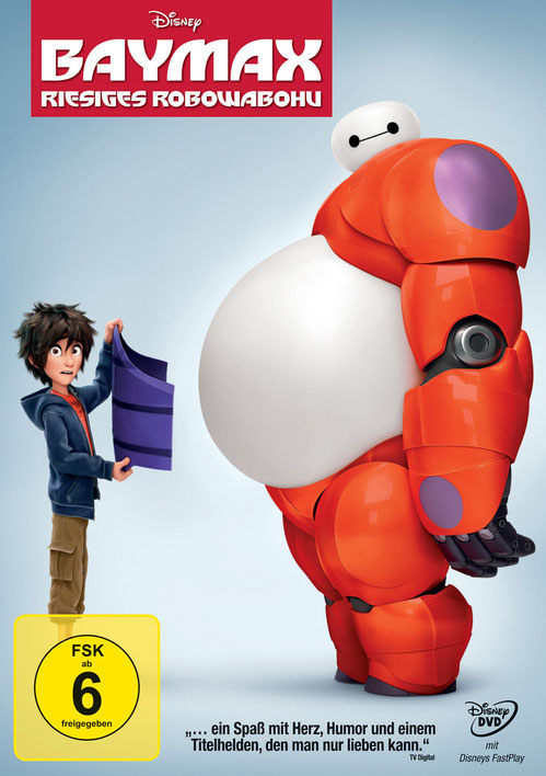 Baymax - Bluray - DVD - Disney - kulturmaterial