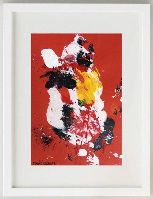 67 / GINO VERCELLI, THE FLY, Acrilico, 20 x 30