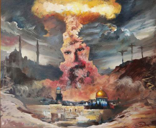 "Dolondutsky Alexandr, ""Wahrheit"", Öl auf Leinwand, 100 x 120 cm, 2012, gerahmt"
