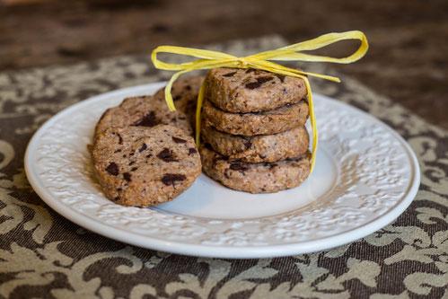 Schoko-Hafer-Cookies