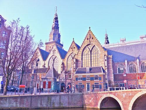 Städtereise Holland Amsterdam, Rotlichtviertel