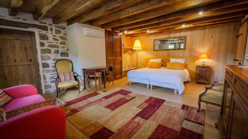 chambres d'hôtes de la Grande Forêt à saint Jouvent en Haute-Vienne, Limousin