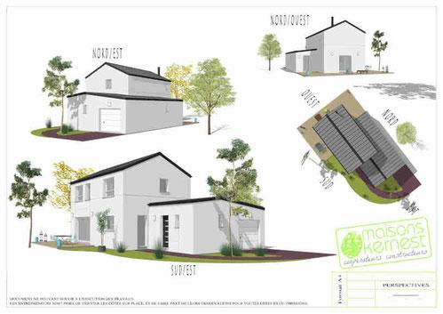 Maisons Kernest: votre plan maison 4 chambres