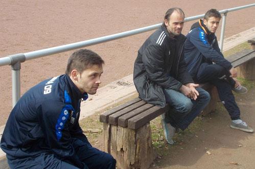 3x Reiß: von links Toni, Reimund und Marco Reiß.
