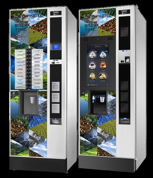 NECTA Canto - Getränkeautomaten von Mahlzeit Catering