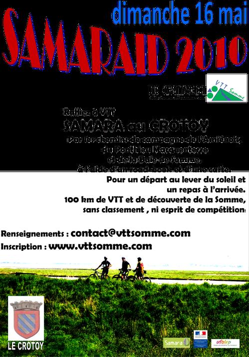 Affiche SAMARAID 2010