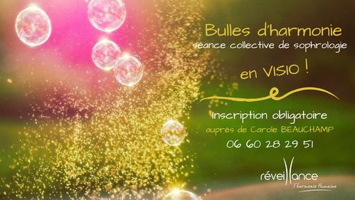 Bulles d'harmonie, séances collectives de sophrologie à St Quentin en Yvelines - 78