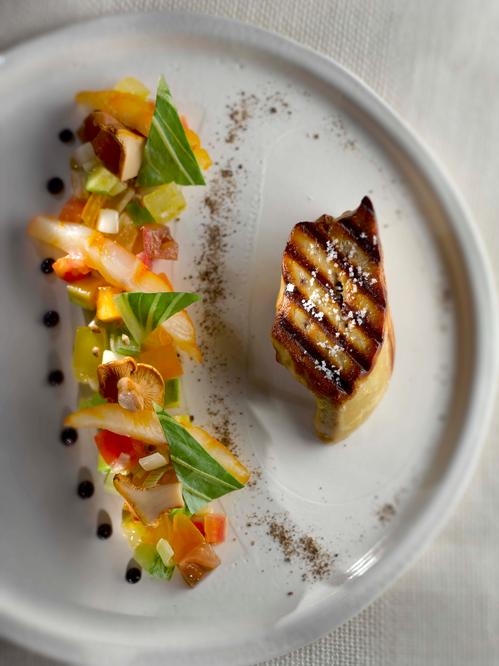 Cuisine à 4 mains à Cicada avec Stephan Paroche et Vincent Lucas