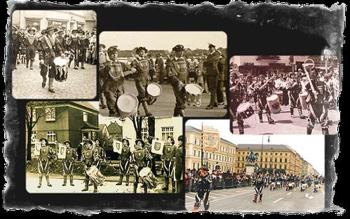 Bild: Fanfaren Haltern historische Aufnahmen