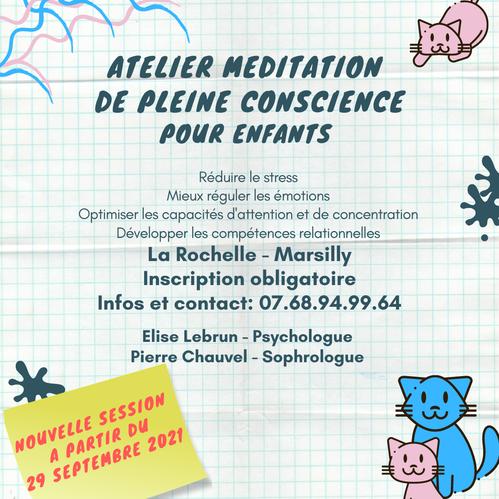 Méditation la rochelle