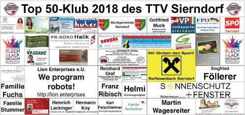 Das neue Transparent ist gedruckt! Jetzt wartet es auf seinen ersten Einsatz beim 38. Sierndorfer Tischtennisturnier, wo es den Hintergrund für alle Siegerehrungen bilden wird.
