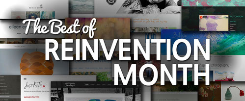 Jimdo's Best of Reinvention Month Contest