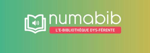 Numabib, la bibliothèque pour les Dys
