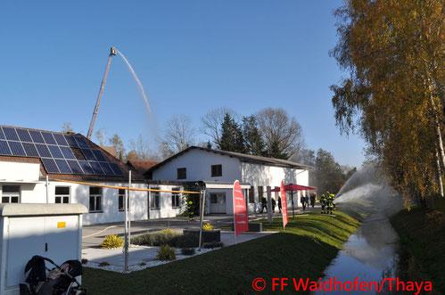 Feuerwehr; Blaulicht, FF Waidhofen/Thaya; Übung;