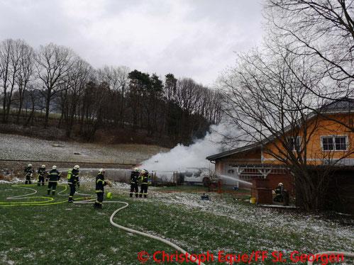 © Christoph Eque/Freiwillige Feuerwehr St. Georgen am Steinfelde