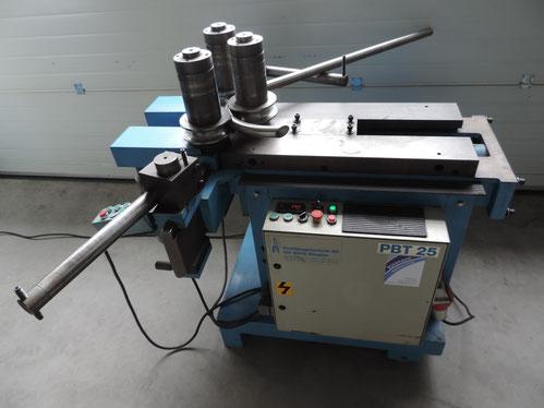 CNC gesteuerte Rundmaschine für Flachstahl- und Hohlprofile