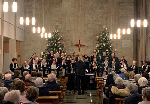Konzert Stolberg Bethlehem-Krankenhaus Kirchenchor Nütheim/Schleckheim 2019