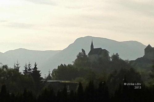 Früher Morgen in Sterzing/Vipiteno