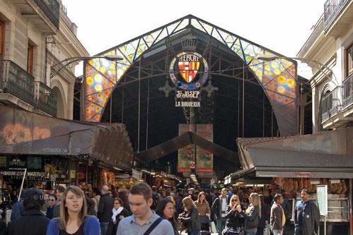 Markthallen des Mercat de la Boqueria