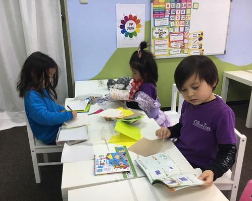 Japanese Class:日本語クラスの一コマ