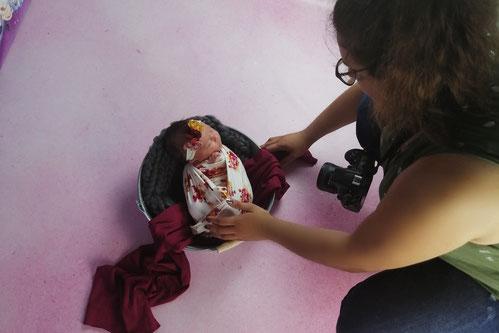 Celia D. Photographie photographe naissance nouveau-né bébé dijon beaune nuits saint georges