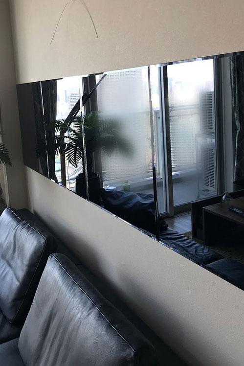 タワーマンション_玄関鏡施工
