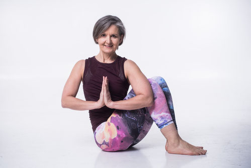 Unsere Interviewpartnerin Renata Horky hat Leidenschaft für Yoga