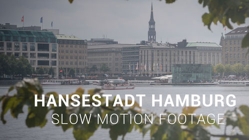 "Thumbnail zum neuen Film ""Hansestadt Hamburg in Slow Motion"""