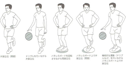 「足関節捻挫予防プログラム」より