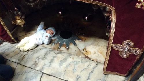 Where baby Jesus was born - Dante Harker